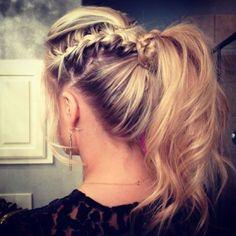 Cute ponytail(: