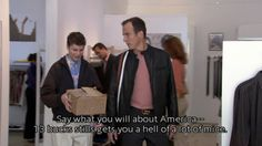 """""""Who said anything bad about America?"""""""