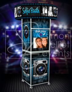 Something new from Simon Elliot Events: The Selfie Booth. Bar Bat Mitzvah kids are lovin' this.
