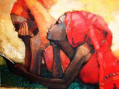 """Maria Naita's """"The Letter"""" #Art #Uganda"""
