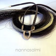 horsehair necklace pferdehaar halskette jouhikaulakoru nannasalmi www.nannasalmi.com