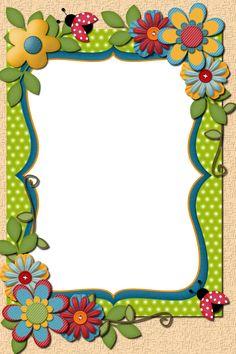 Frame Border Design, Boarder Designs, Page Borders Design, Diy Crafts Paper Flowers, Paper Crafts, Flower Background Design, Free Printable Stationery, Boarders And Frames, Borders For Paper