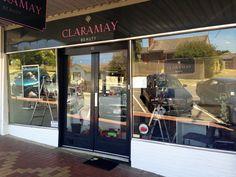 Jan 2014 renovation @ Claramay Beauty- freshly painted!