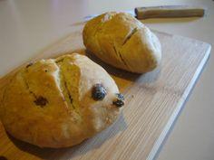 Ma vie en vert: Broodbolletjes zonder gist
