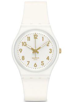SWATCH WHITE BISHOP UNISEX WATCH GW164 £32.00 White bishop from Swatch is  light weight wrist d7300f0c62