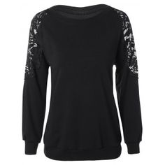 SHARE & Get it FREE | Plus Size Lace Patchwork Pullover SweatshirtFor Fashion Lovers only:80,000+ Items·FREE SHIPPING Join Dresslily: Get YOUR $50 NOW!