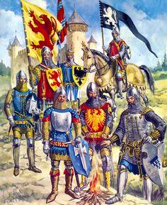 German knights 14th century