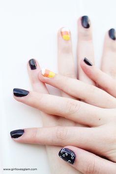 Halloween Nail Art C