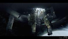 Alien Isolation_Environments, Brad Wright on ArtStation at https://www.artstation.com/artwork/VvYVb