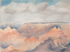"""""""Grand Canyon,"""" 9x12 in. Pastel on Paper. Sarah Szabo"""