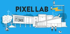 The Pixel Lab  #header #banner #website #design