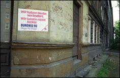 Berlin   DDR. Der alte Osten. Bündnis 90. Johan van Elk