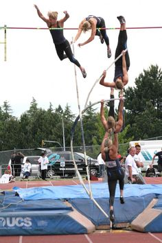I wish i could do this on our pole vault
