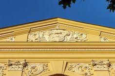 Detail of Seminarium Marianum, Marinasky seminar, in Trnava, Slovakia by Elena Duvernay Geneva Switzerland, Travel Around Europe, Framed Prints, Canvas Prints, Famous Places, Photos Du, Travel Photos, Fine Art America, Photo Art