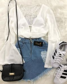 Sweet 100 Casual Outfit Ideas You Might Like Teen Fashion Outfits, Look Fashion, Outfits For Teens, Girl Outfits, Tumblr Outfits, Cute Casual Outfits, Casual Clothes, Outfit Goals, Mode Inspiration