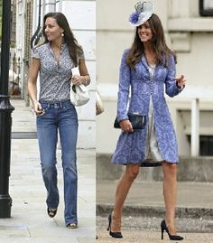 Kate Middleton: casual vs dressy.We can't decide which one we like better.