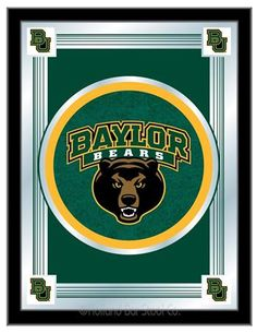 Baylor University Logo Mirror