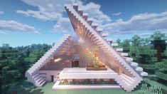 Cool Minecraft Creations, Cute Minecraft Houses, Minecraft Banner Designs, Minecraft Plans, Minecraft Houses Blueprints, Minecraft Room, Amazing Minecraft, Minecraft Decorations, Minecraft House Designs