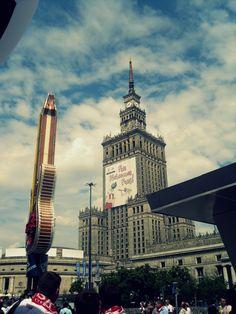 Pałac Kultury i Nauki w Warszawie/The Palace of Culture and Science in Warsaw