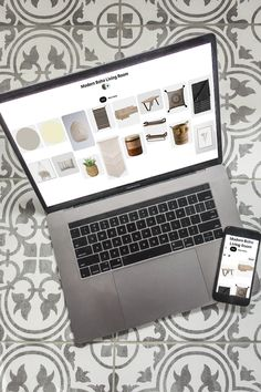 Learn the easiest way to create a mood board for interior design, using something you likely already have - a Pinterest account! #moodboard #designboard #interiordesign Interior Design Boards, Beautiful Interior Design, Beautiful Interiors, Boho Living Room, Lights Background, Modern Boho, Pinterest Account, Room Set, Instagram Accounts