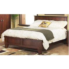 Nebraska Furniture Mart – Modus Furniture Canyon California King Panel Bed in Ebony