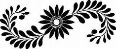 Floral designs / Patterns to tranfer - Works by Sumathi - Indian Flower Design Images, Flower Pattern Design, Flower Patterns, Flower Designs, Floral Design, Stencil Patterns, Stencil Designs, Tile Patterns, Design Patterns