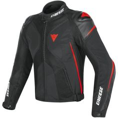 56ec17ee68e Chaqueta DAINESE Super Rider D-Dry Black   Red-Fluo