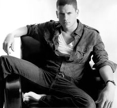 Wentworth Miller. New favorite show. New favorite husband.