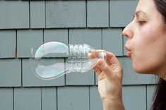 DIY Recycled Bubble Blowers