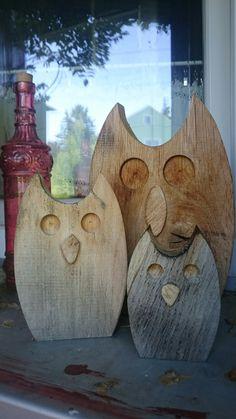 DIY Holzeulen