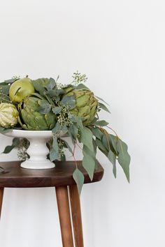 Beyond The Pumpkin: DIY Centerpieces using seasonal produce