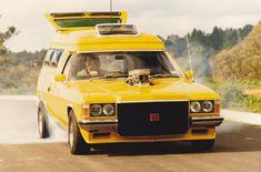 Holden Wagon, Holden Australia, Aussie Muscle Cars, Australian Cars, Vanz, Yellow Car, Car Sit, Custom Vans, Station Wagon