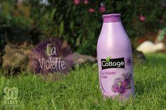 Le cottage a la violette... c'est chouette !! Plus d'info sur le blog : http://sogirlyleblog.wordpress.com/2014/09/08/les-gels-douches-cottage/