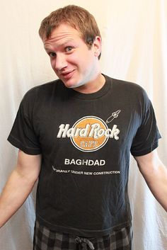 Hard Rock Cafe shirts. These were the ish! | 33 '90s Trends That, In Retrospect, Maybe Weren't Such A Great Idea