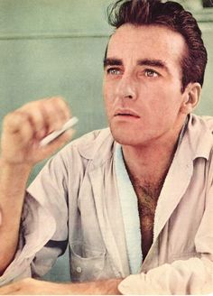 """Montgomery Clift """"What am I looking at?"""""""