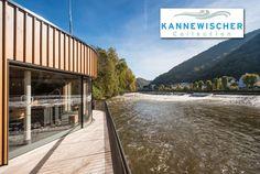 Außergewöhnlich: Das besondere Flair der Emser Therme wird stark durch das Flusspanorama bestimmt