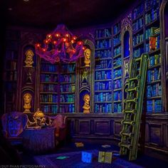 """91 Likes, 15 Comments - Evan (@hauntedmansion999) on Instagram: """"Library at Tokyo Disneyland. Photo by @nikkoap92 . I have insanely exciting news: Five Nights at…"""""""