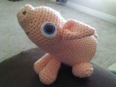 Pig Plushie Amigurumi Handmade Crocheted Toy by AshleysArtBox, $12.00