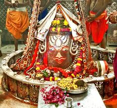 #Bhasma #Aarti pic of Shree #Mahakal #Ujjain -  Oct. 01  Visit the #holy city of Ujjain famous for its #Temples
