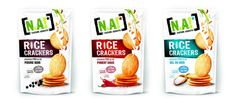 La marque NA ! se lance sur le snacking salé avec une gamme de crackers de riz pauvres en matières grasses. / Foodly