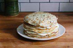 Crêpe Cake Filled With Pastry Cream #SELFIndulge