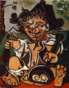 Pablo Picasso El Bobo