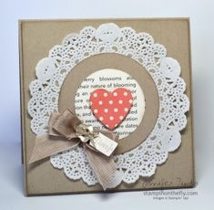 SUOC63 – My little Valentine   Stampin' on the Fly