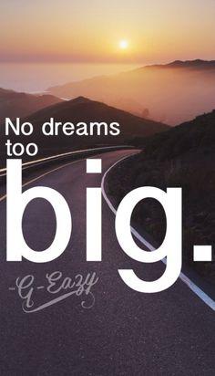 G-Eazy - No dream's too big. Lock Screens