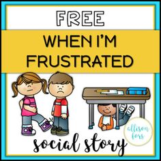 FREE Behavior Social Story FREE Behavior Social Story,Social Skills and Self Advocacy Behavior management: A social story mini-book on how to handle frustration with expected versus unexpected behaviors. A great way to discuss feelings. Social Stories Autism, Social Emotional Activities, Social Skills Lessons, Teaching Social Skills, Coping Skills, Teaching Resources, Character Education Lessons, Social Skills Autism, Teaching Character
