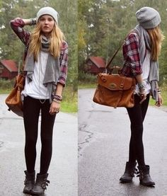 flannel... (one that fits comfortably... but not a mens oversized one) not too busy... i like the larger prints
