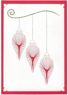 Amanda's Craft Space: More Prick-n-Stitch Cards