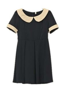it's for grown ups :D.. I see me wearing this with a pony tail... for some odd reason I love this dress!!