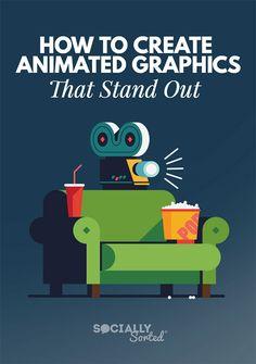Crello Animation Maker - How to Create Animated Graphics that Stand out Animation Maker, Create Animation, Animation Tools, Idea Generation Techniques, Online Marketing, Social Media Marketing, Content Marketing, Affiliate Marketing, Digital Marketing