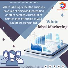 Have you ever heard about White Label Marketing? White label marketing is when a company sells another company product in their name. It helps in the boosting of the brand and ensures the good quality of the product. For more services regarding digital marketing and social media Marketing contact us. #whitelabelmarketing #marketing #marketingstrategy #digitalmarketing #digitalcreaters #marketingtips #marketingonline #business #offers #services #socialmediamarketing #SEO #branding…